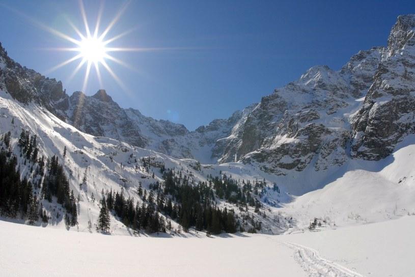 W Tatrach poprószy śnieg /Adrian Gladecki /Reporter