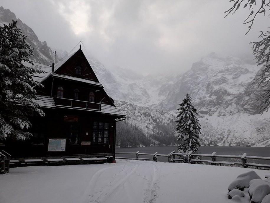W Tatrach zaczyna się prawdziwa zima /Tatrzański Park Narodowy /
