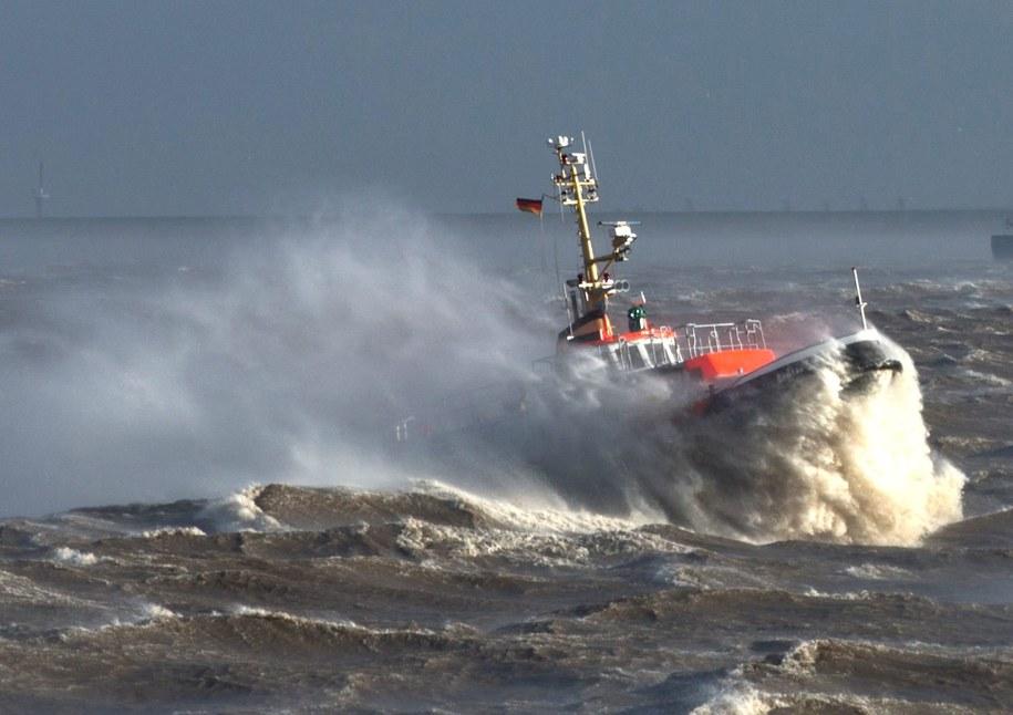 W tej chwili na Bałtyku wieje 4 w skali Beauforta /Christian Charisius   /PAP/EPA