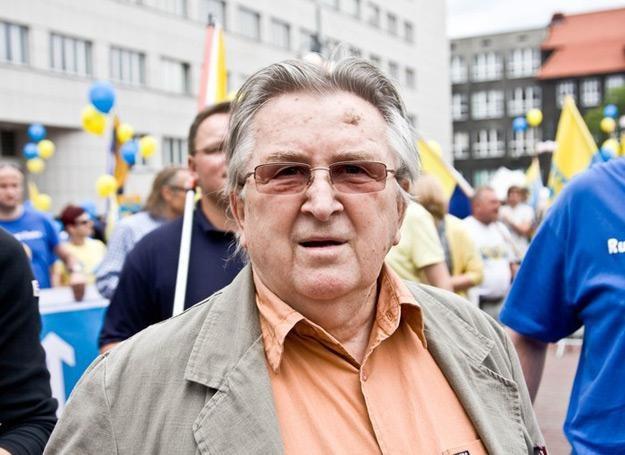 W teledysku Projektu Ślązak pojawia się Kazimierz Kutz - fot. Marek Kuwak /Reporter