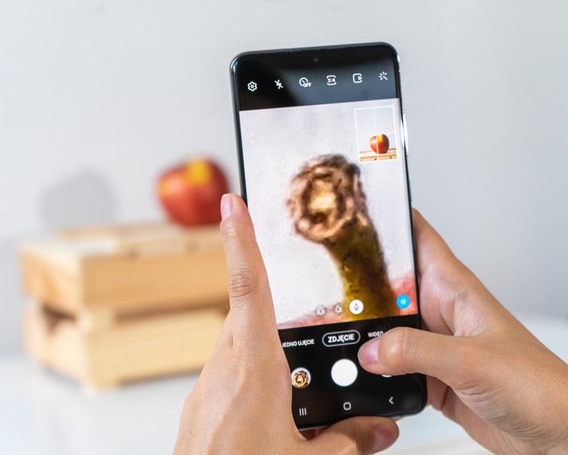 W telefonie Samsung Galaxy S20 Ultra zastosowano nową matrycę światłoczułą o rozdzielczości 108 Mpix /INTERIA.PL