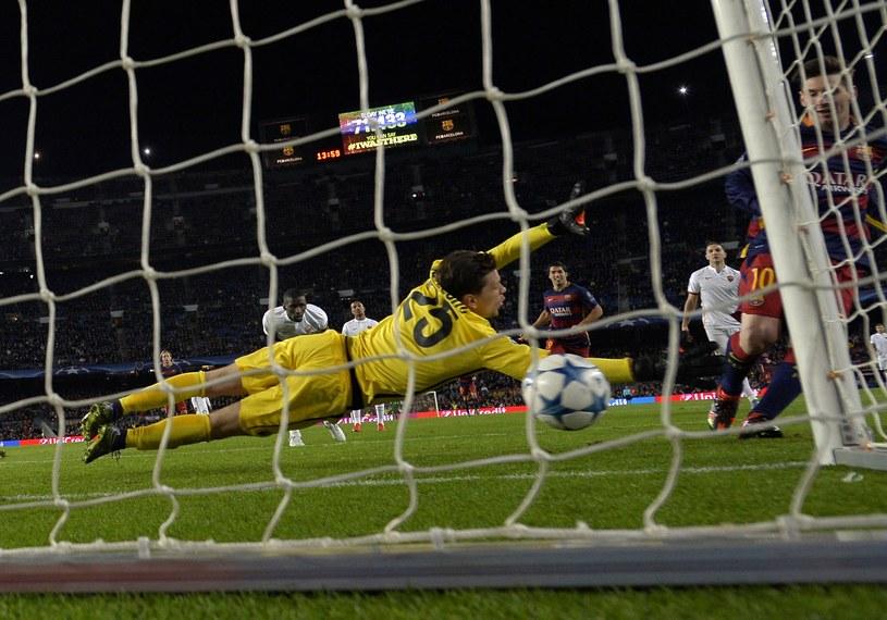 W ten sposób Lionel Messi strzelił swojego 79. gola w LM /AFP