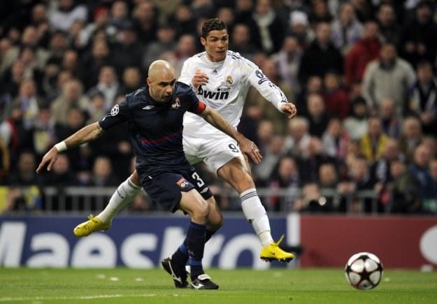 W ten sposób Ronaldo zdobył gola na 1-0 dla Realu. /AFP