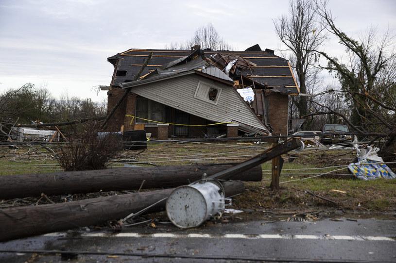 W Tennessee zginęło co najmniej 19 osób /BRETT CARLSEN / GETTY IMAGES NORTH AMERICA / AFP /AFP