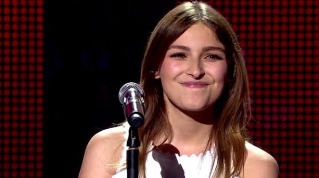 """W """"The Voice of Poland"""" rewelacyjnie zaśpiewała """"Valerie"""" z repertuaru Amy Winehouse. /TVP"""