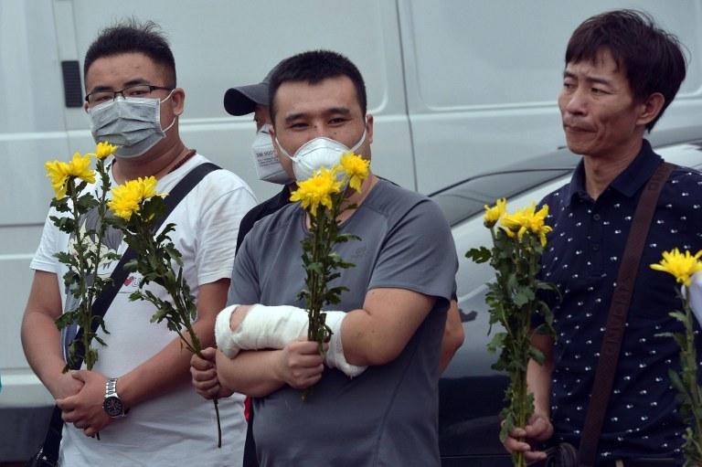 W Tiencin doszło do ogromnej eksplozji /AFP