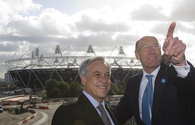 W tle Stadion Olimpijski w Londynie. /INTERIA.PL/PAP