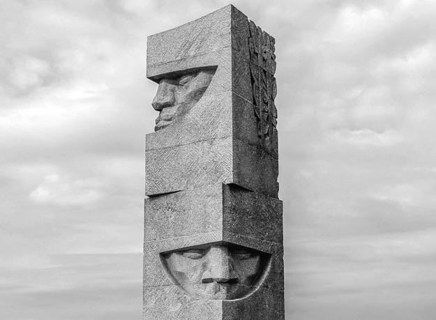 W trakcie uroczystości odsłonięto Pomnik Grunwaldzki /Gerard /Reporter