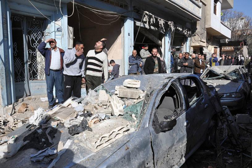 W trwającej od marca 2011 roku wojnie w Syrii zginęło co najmniej 280 tys. ludzi /AFP