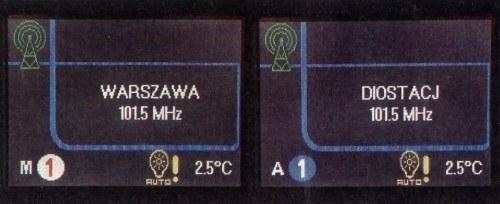 W trybie automatycznym kółko z numerem biegu jest niebieskie, w manualnym - białe. /Motor