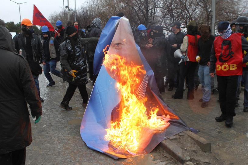 W Turcji doszło do zamieszek /AFP