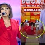 W TVP zamarli! Izabela Trojanowska nagle upadła na scenie!