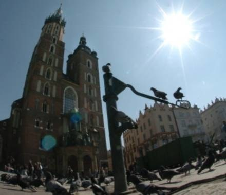W tych dniach Kraków świętuje! /AFP