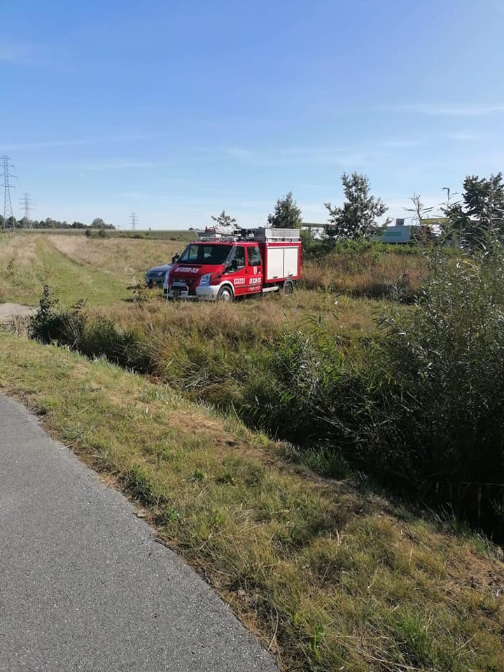 W tym miejscu znaleziono ciało Henryka Kliszewicza /OSP Cedry Wielkie /facebook.com