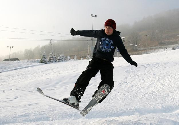 W tym roku górale w Tatrach przygotowali narciarzom niespodziankę / fot. Grzegorz Momot /PAP