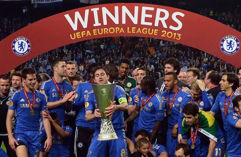 W tym roku Ligę Europejską wygrali piłkarze Chelsea Londyn /AFP