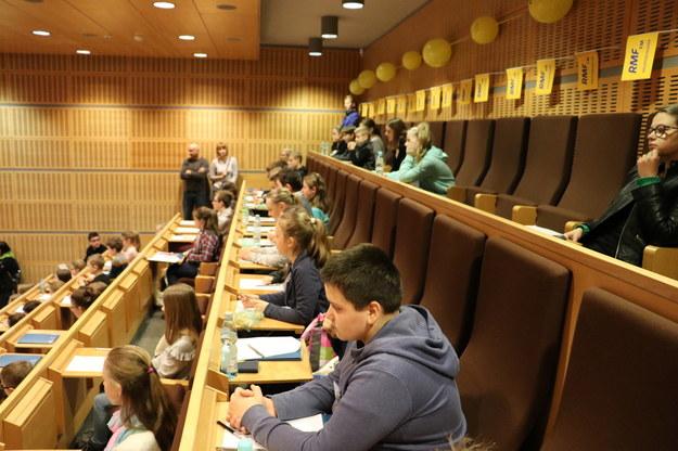 W tym roku odbędzie się także dyktando dla dzieci i młodzieży /Jacek Skóra /RMF FM