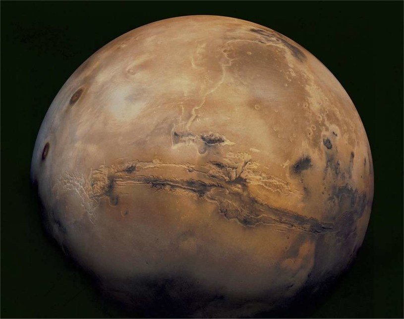 W tym roku odkryto, że na Marsie znajduje się woda w stanie stałym /NASA