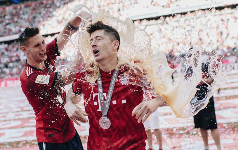 """W tym roku podczas świętowania mistrzostwa może zabraknąć """"piwnego prysznica"""" /Matthias Hangst /Getty Images"""