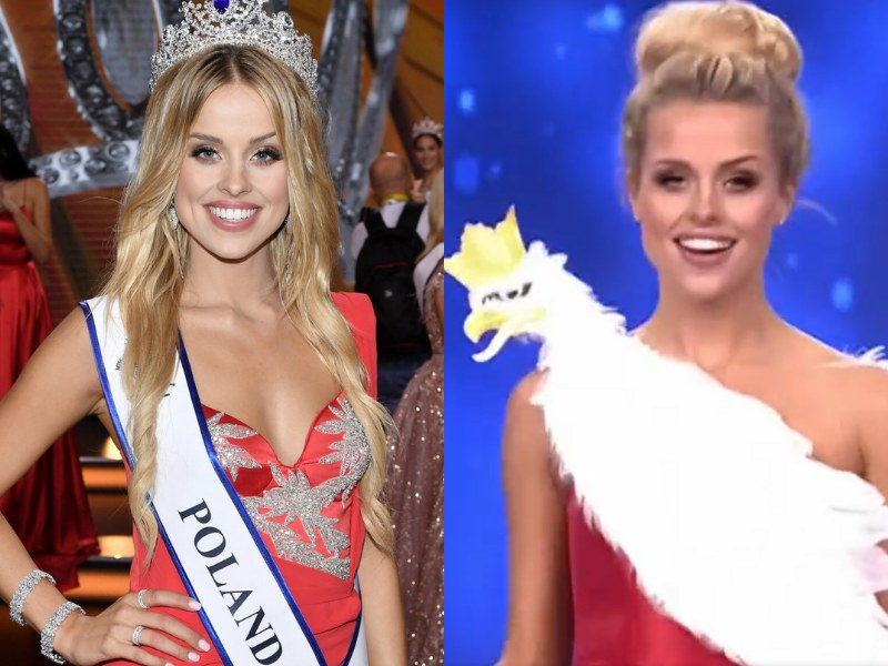 W tym roku w konkursie Miss Supranational Polskę reprezentowała 21-letnia Natalia Balicka /Lukasz Kalinowski/Polsat /East News
