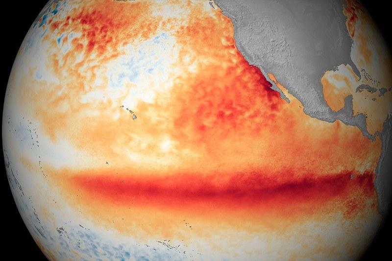 W tym roku zjawisko El Nino jest najpotężniejsze w historii /materiały prasowe