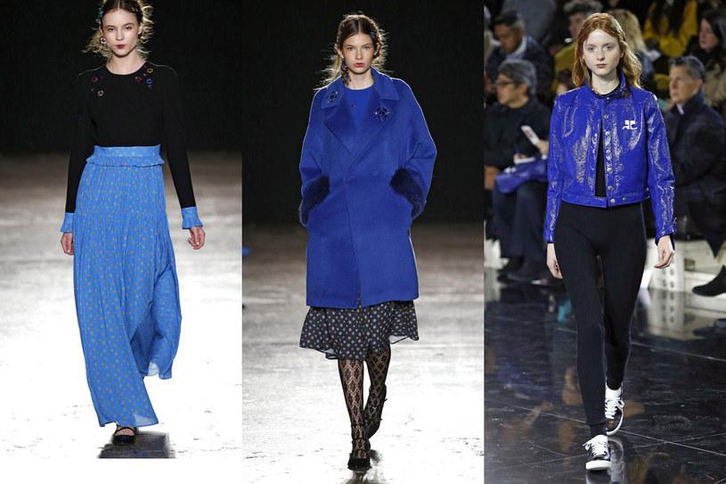 W tym sezonie modne są prawie wszystkie odcienie niebieskiego /East News/ Zeppelin