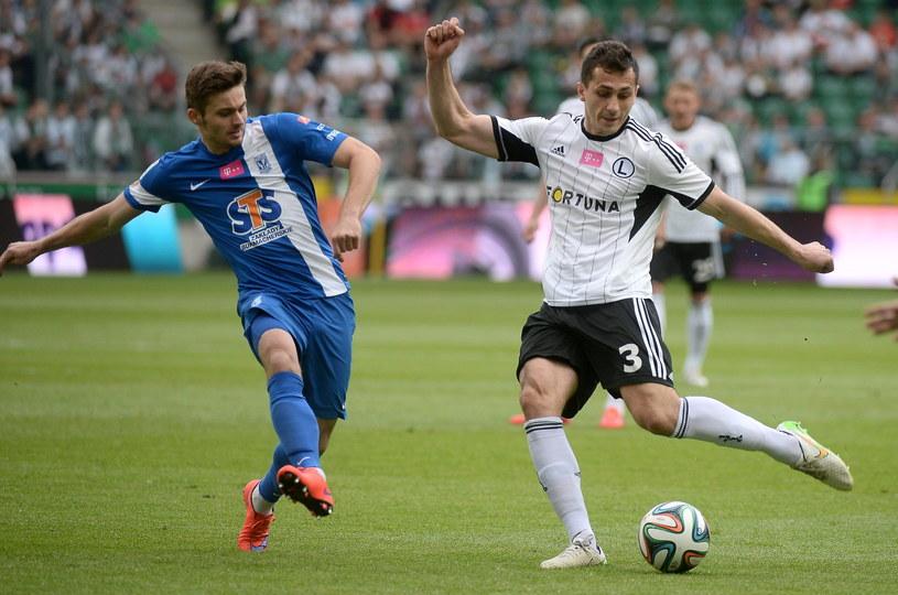W tym sezonie w finale Pucharu Polski Legia Warszawa zmierzyła się z Lechem Poznań /Fot. Bartłomiej Zborowski /PAP