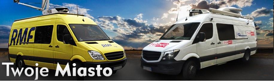 W tym tygodniu ekipa RMF FM i TVP Info gości w Ustce! /RMF FM