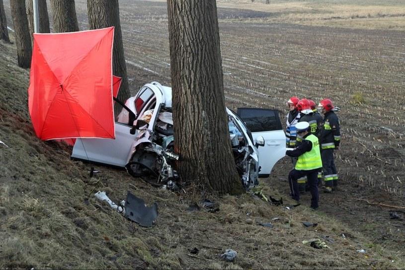 W tym wypadku, do którego doszło w marcu, zginęło czworo obcokrajowców / Marcin Bielecki    /PAP