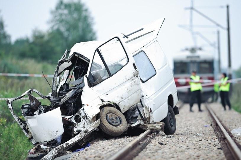 W tym wypadku na miejscu zginęło 8 osób, a kolejna w szpitalu /Łukasz Szeląg /Reporter
