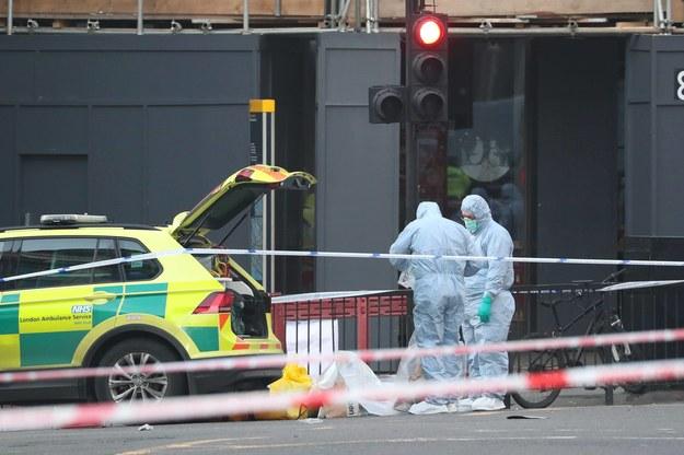 W ubiegłorocznym zamachu na Moście Londyńskim zginęły dwie osoby /Steve Parsons    /PAP/PA