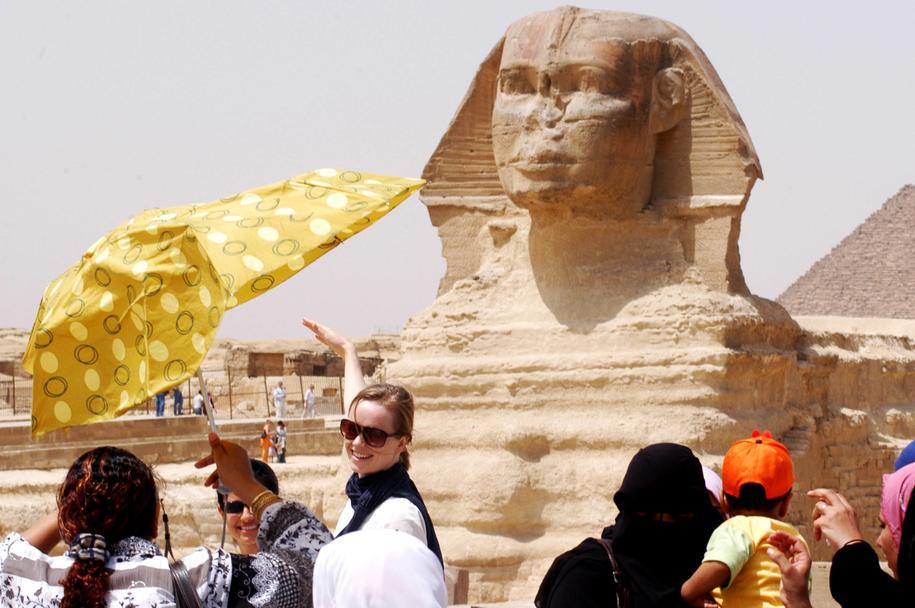 W ubiegłym roku Egipt odwiedziło 8,3 mln turystów / Rafael Ben-Ari/Chameleons Eye    /