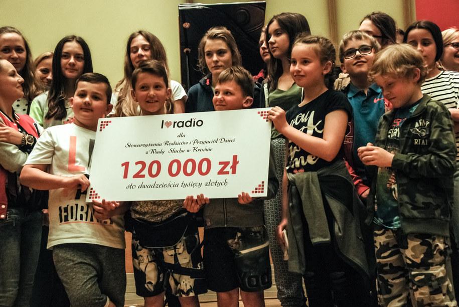 W ubiegłym roku zebrano 120 tysięcy złotych /