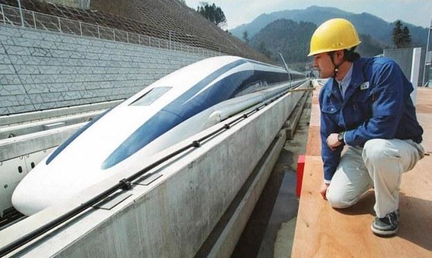 W ubiegłym tyogdniu pociąg osiągną prędkość 499 km/h /AFP