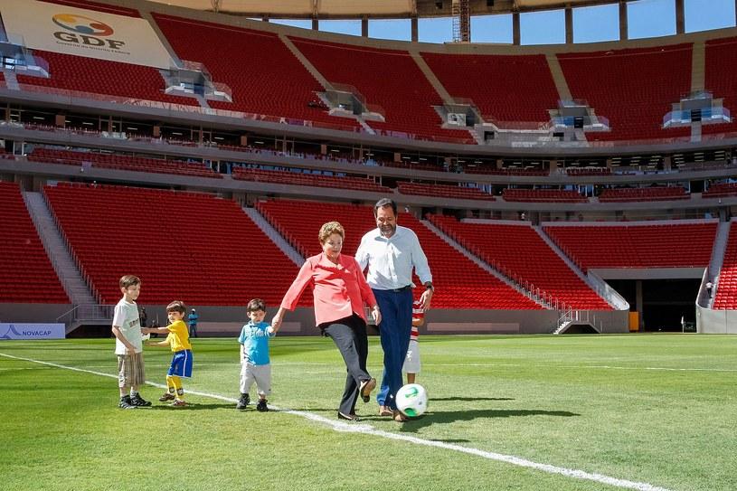 W uroczystości otwarcia obiektu wzięła udział prezydent kraju Dilma Rousseff /AFP