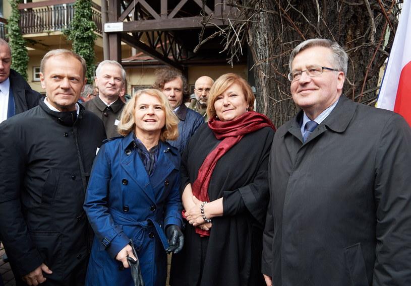 W uroczystości w Sopocie wziął udział Donald Tusk /Adam Warżawa /PAP