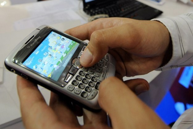 W USA liderem jest sprzedaży smartfonów jest RIM, producent BlackBerry, w świecie przewodzi Nokia /AFP