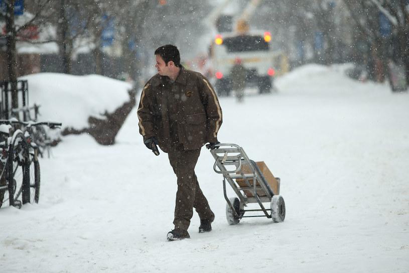 W USA zima nie odpuszcza /AFP