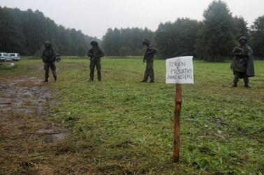 Tidak ada perubahan di Usnarz Górny.  Lebih dari 20 orang tinggal di dekat perbatasan Polandia