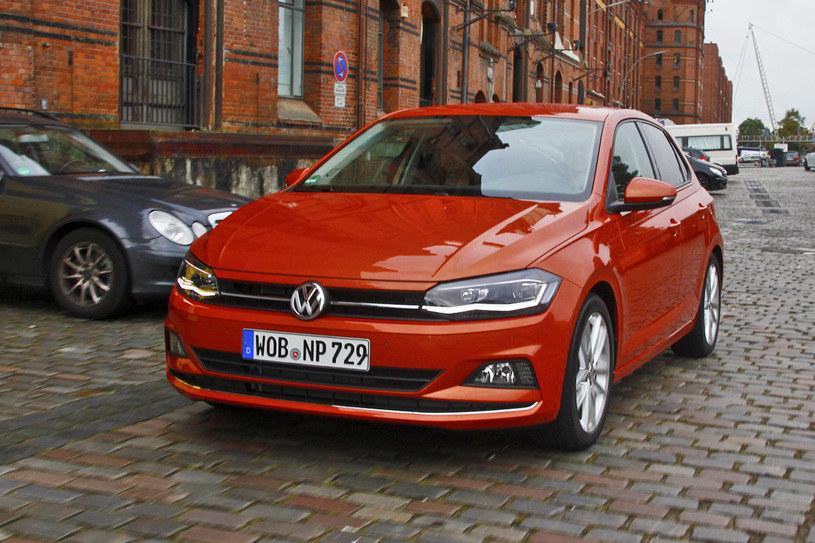 W VW Polo może rozpiąc się tylny lewy pas /INTERIA.PL