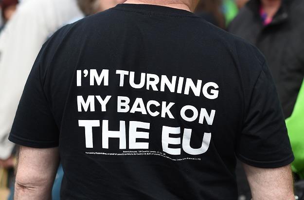W W. Brytanii jest wielu zwolenników wyjśćia z UE /AFP