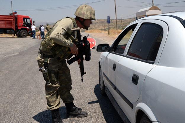 W walkach z PKK zginęło już ponad 40 tureckich żołnierzy fot. Ilyas Akengin /AFP