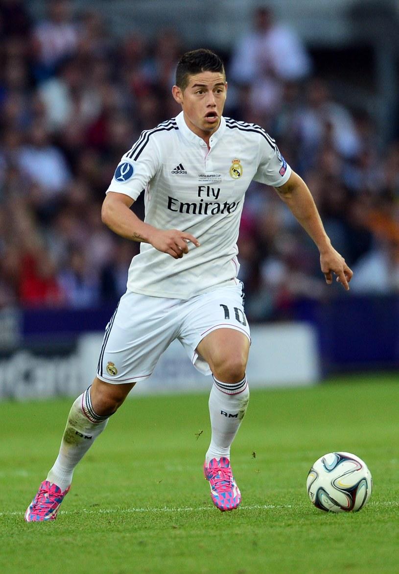 W Warszawie będzie można zobaczyć jeden z najgłośniejszych transferów tego lata - Jamesa Rodrigueza /AFP
