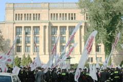 """W Warszawie odbyła się manifestacja """"budżetowców"""""""