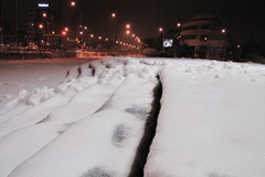 W Warszawie spadło w nocy 20 cm śniegu