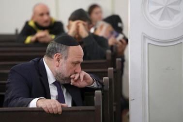 W warszawskiej synagodze modlitwa za ofiary zPittsburgha
