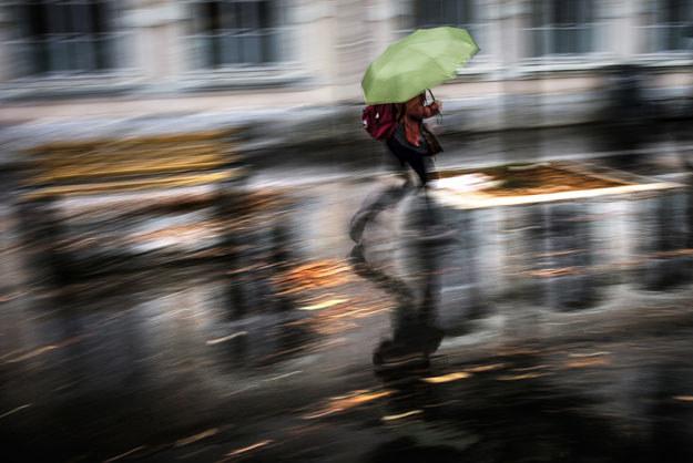 W weekend będzie padać fot. Jeff Pachoud /AFP
