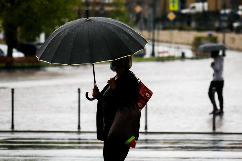 W weekend będzie padać w całym kraju /Beata Zawrzel /Reporter