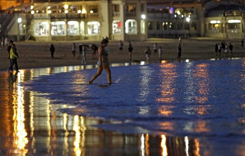 W większości regionów temperatura przekraczała 25 stopni Celsjusza /PAP/EPA