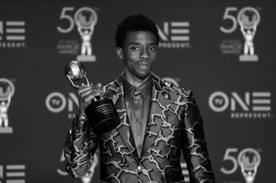 W wieku 43 lat zmarł w Los Angeles aktor filmowy i telewizyjny Chadwick Boseman /ETIENNE LAURENT /PAP/EPA